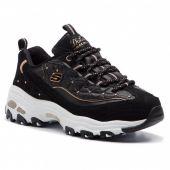 Zapatillas Skechers W D' Lites Glamour Feels 13087-Bkrg