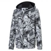 Sudadera ALPHA AOP HOODED JACKET TR 581275-01