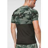 Camiseta Nike M Top Ss Slim Camo Cu4093-355