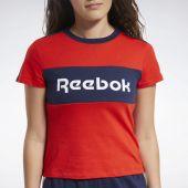 Camiseta Reebok W Te Linear Logo Deta Tee Ft0899